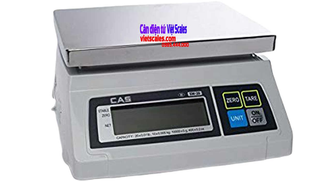 cân thủy sản CAS SW